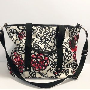 Coach Daisy Floral Grafitti Large Tote/Crossbody